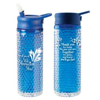 For All You Do We Appreciate You Deep Freeze Water Bottle 20-oz.