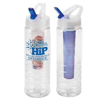 HIP Because Data Makes A Difference 3-In-1 Essential Water Bottle 26-oz.