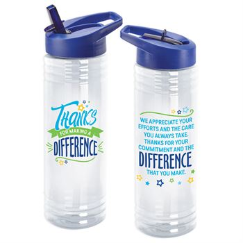 Thanks For Making A Difference Solara Water Bottle 24-Oz.