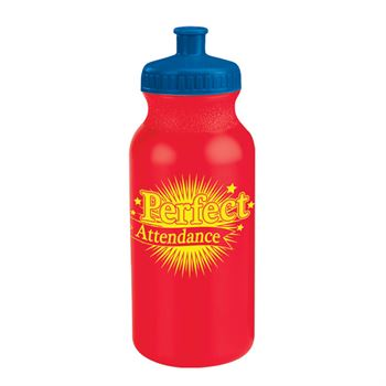 Perfect Attendance Water Bottle 20-Oz. - Pack of 10