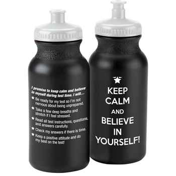 Keep Calm And Believe In Yourself! Water Bottle 20-oz. - Pack of 10