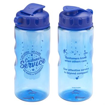 Customer Service: We Listen, We Care, We Make A Difference Fruit Infuser Water Bottle 22-oz.