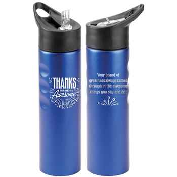 Thanks For Being Awesome Essex Stainless Steel Water Bottle 25-Oz.