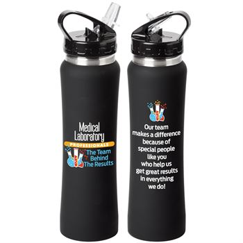 Medical Laboratory Professionals The Team Behind The Results Lakewood Stainless Steel Water Bottle 25-Oz.
