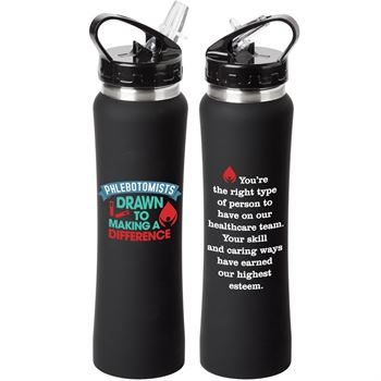 Phlebotomists: Drawn To Making A Difference Lakewood Water Bottle 25-Oz.