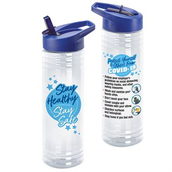 Stay Healthy & Stay Safe Solara Water Bottle
