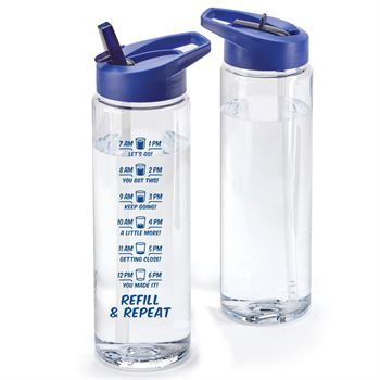 Refill & RepeatSolara Hydration Wellness Water Bottle 24 Oz