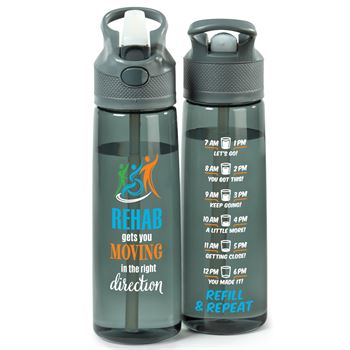 Rehab Gets You Moving In The Right Direction Wellness Tritan™ Water Bottle 28-Oz.
