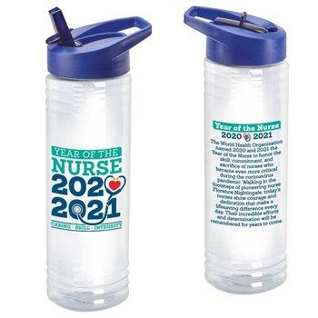Year Of The Nurse Solara Water Bottle 24-Oz.