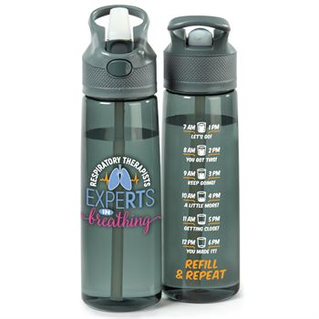 Respiratory Therapist: ExpeRTs In Breathing Wellness Tritan™ Water Bottle 28-Oz.