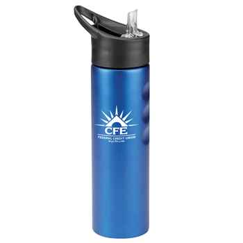 Essex Blue Stainless Steel Water Bottle 25-Oz. - Personalization Available