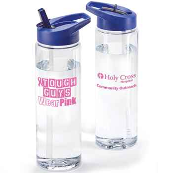 Tough Guys Wear Pink Solara Water Bottle 24-Oz. with Personalization