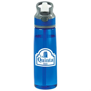 Wellness Tritan&trade: Blue Water Bottle 28-Oz. - Personalization Available