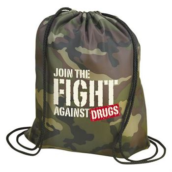 Join The Fight Against Drugs Backpack