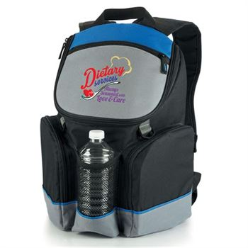 Dietary Services Always Seasoned With Love & Care Bridgeport Backpack Cooler