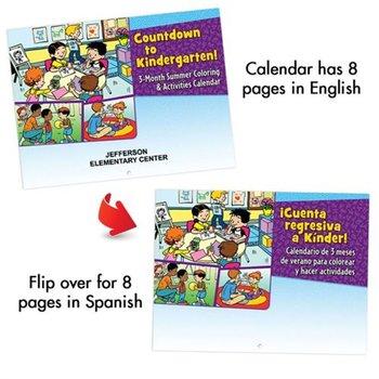 Bilingual Perpetual Calendar: Countdown To Kindergarten