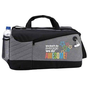 We Don't Do Average, We Do Awesome! Princeton Duffel Bag