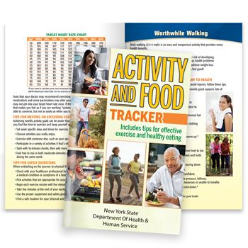 Activity & Food Tracker Journal