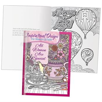 Inspirational Designs For Women Of Faith Adult Coloring Book