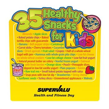Healthy Snacks For Kids Magnet