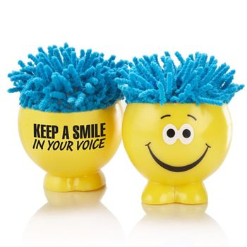 Keep A Smile In Your Voice - Shaggy Microfiber Screen Cleaning Dude
