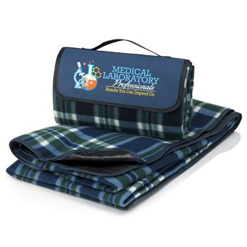 Medical Laboratory Professionals Results You Can Depend On Fleece Picnic Blanket