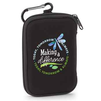 Making A Difference Today, Tomorrow & Always Identity Guard Wallet With Carabiner