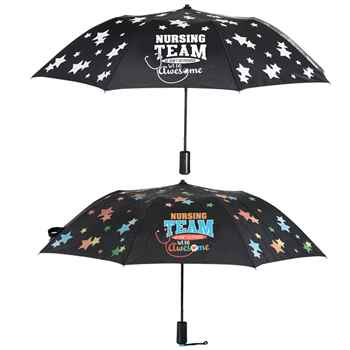 Nursing Team, we don't do average, we do awesome automatic umbrella
