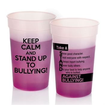 Keep Calm And Stand Up To Bullying! Mood Stadium Cup