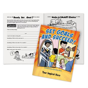 Set Goals And Succeed Educational Activities Book