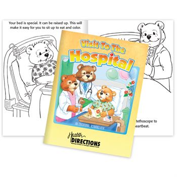 Visit To The Hospital Educational Activities Book
