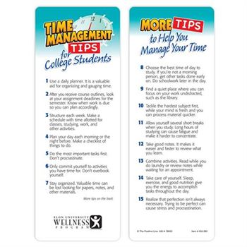 Time Management Tips For College Students Bookmark