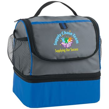 Supply Chain Supplying Our Success - Bayport Dual Compartment Lunch Bag