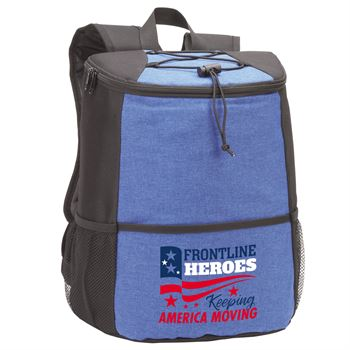 Frontline Heroes Keeping America Moving Hemingway Backpack Cooler