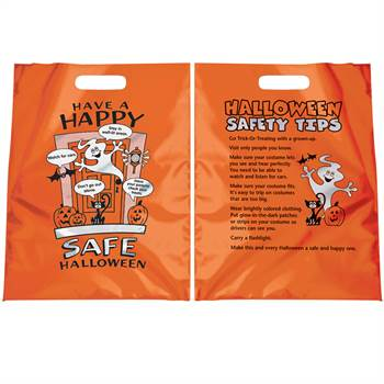 Have A Happy, Safe Halloween Reflective Trick-Or-Treat Bag