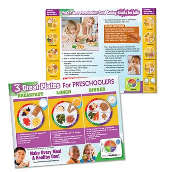 3 Great Plates For Pre-Schoolers 56-Page Tablet