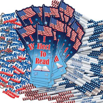 I Elect To Read! 300-Piece Value Pack