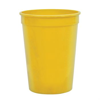 12 Oz. Durable Recyclable Stadium Cup - Personalization Available