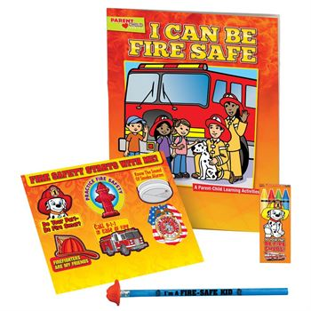 Grades Pre-K Thru Kindergarten Fire Safety Educational Activity Pack
