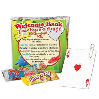 Welcome Back Teachers & Staff Survival Kit