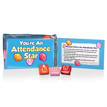 You're An Attendance Star Starbursts Treat Pack