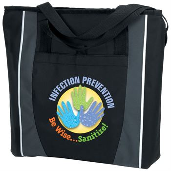 Infection Prevention Be Wise Sanitize Prime Zip Tote