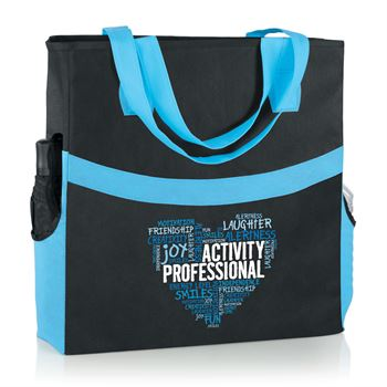 Activity Professionals Heartfelt Words Harbor Non-Woven Shopper Tote