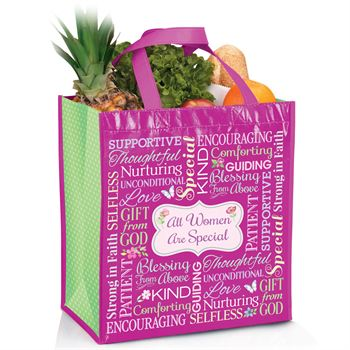 All Women Are Special Non-Woven Laminated Tote