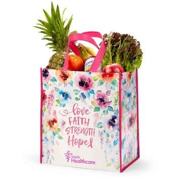 Love, Faith, Strength, Hope Laminated Eco-Shopper Tote