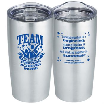 TEAM: Together Everyone Achieves More Everest Tumbler