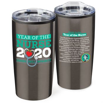 Year of The Nurse Teton Stainless Steel Tumbler 20-Oz. (COVID-19 Edition)