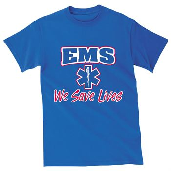 EMS: We Save Lives Short-Sleeved T-Shirts