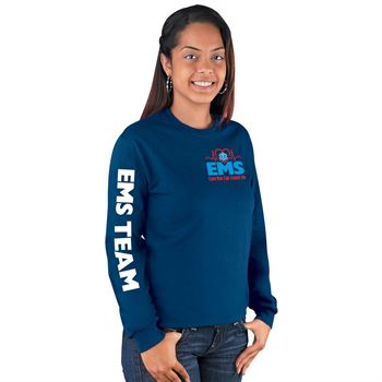 EMS: Care You Can Count On Long-Sleeved T-Shirt