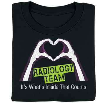 Radiology Team It's What's Inside That Counts T-Shirt
